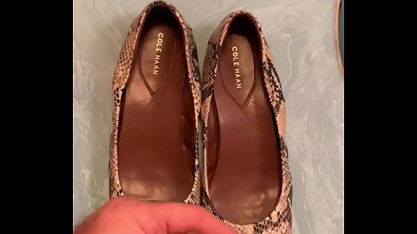 Shoe fucking - Cole Haan Roccia Snakeskin Flats Thumb