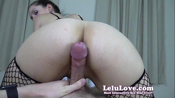 Cameltoe slide YOUR cock in fishnets bodystocking cumshot - Lelu Love
