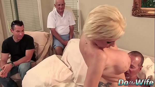 Blonde MILF wife big cock anal creampie Thumb