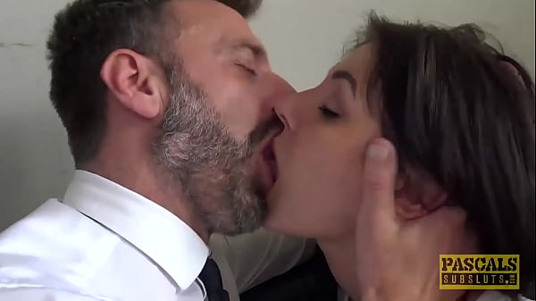 PASCALSSUBSLUTS - Submissive Nayomi Sharp Takes Cum in Mouth