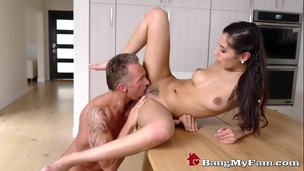 Slutty Teen Daughter Gianna Dior Can't Get Enough Of Stepdaddy's Cock!