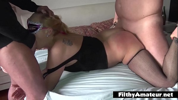 Squirting wife is fucked by friends