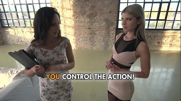 Gina and Lilu - Sharing a Big Dick