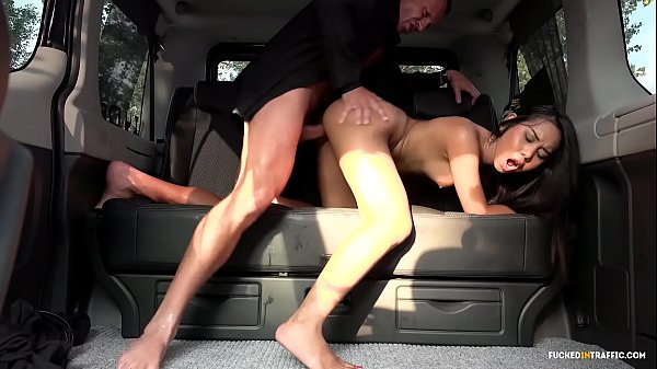 VIP SEX VAULT - Squirting Indonesian babe goes wild in hardcore car fuck Thumb