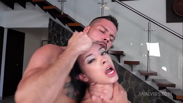 Petite Colombian hottie Daniela Ortiz gets hardcore treatment and DAP NT057