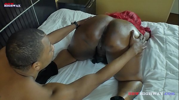 Mz Boutit debuts on BBWhighway.com and shakes her Big ebony booty all on big black cock of Don Prince
