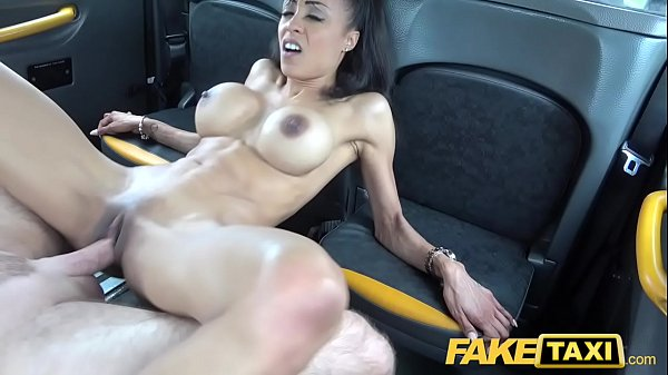 Fake Taxi Petite ebony with big tits works driv...