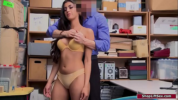 Latina babe banged by pissed off officer
