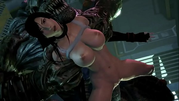 Tifa Lockhart and Monster sex