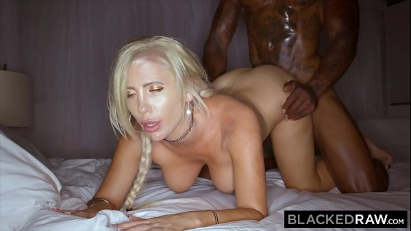BLACKEDRAW Blonde Milf destroyed by BBC on vac...