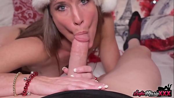 Fit MILF Sofie Marie Fucks And Sucks Dick For Christmas POV