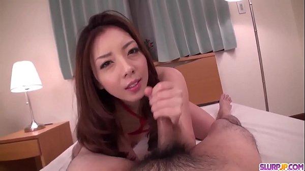 Maki Mizusawa hot scenes of home POV blowjob - ...