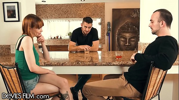 DevilsFilm Cute Girl Has A Bisexual Threesome With Her Stepbro And Her BF