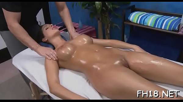 Sexy naked massage and sex