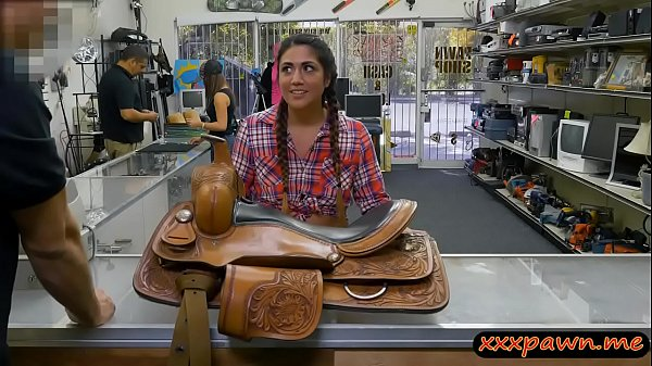 Texas cowgirl anal fucked by pawn dude in the b...