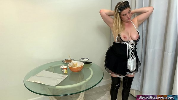Son fucks the maid after she gives him the wron...