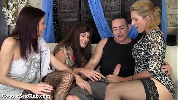 These Stunning Hot Cougars Have Wild Orgy With ...