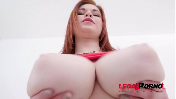 Busty 18 years old Olivia anal training with tw...