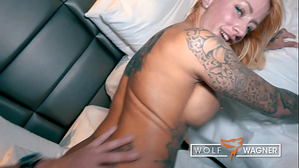 Naughty tattoo model Harleen Van Hynten BANGED by random Blind Date in fancy Hotel Room! █ WOLF WAGNER DATE ▁ I met her on the dating site wolfwagner.date