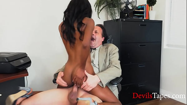 Ebony Teen Meets Her New Boss- Eric John, Chanel Skye