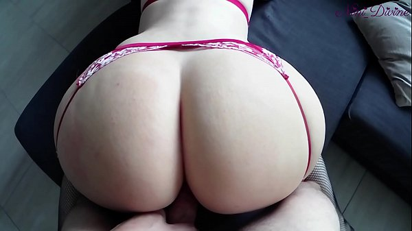 A young French lingerie model gets her big booty ass fucked!