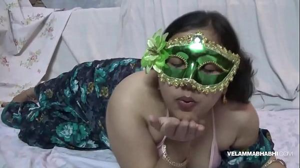 Indian Slut Bhabhi Velamma Playing With Her Mil...