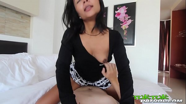 TUKTUKPATROL Asian Lets Foreign Dick Pound Her Hairy Pussy Thumb