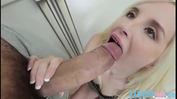 Cute Blonde Stepsister Piper Perri Fucked By Step Brother After Seeing His Big Cock