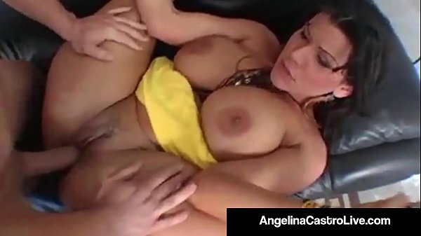 Cuban BJ Queen Angelina Castro Gets A Big Cock and Facial!
