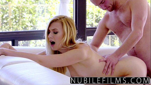 NubileFilms - Tiny pussy fucked raw by huge cock