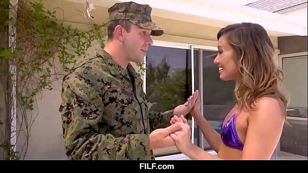 Asian Stepmom Christy Love Gives Her Marine Stepson A Warm Welcome Home from The Front