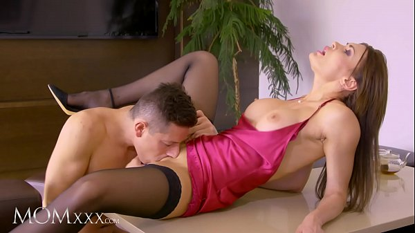 MOMxxx Thirsty Russian stepmom Kitana Lure needs hard young cock