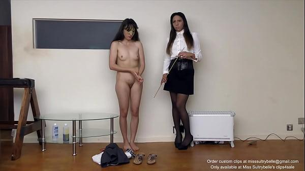 Punished schoolgirl (Shot in 4K)