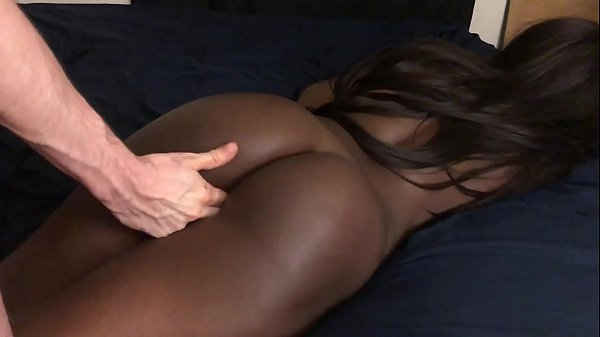 Black Teen Gets Massage And Fingered In Pussy
