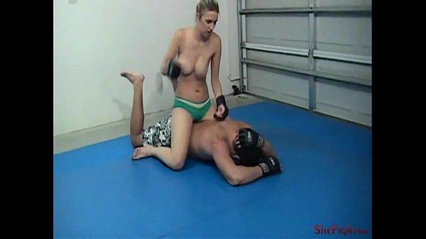 Rachel vs Rob - Bouncing Tits and Dangerous Blows