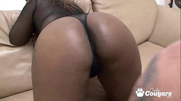 Chunky Black Chicks Swallow A Load From An Aver...
