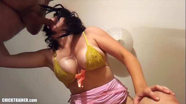 Curvy MILF with big natural Udders trying on different Bras / Bikini Tops. Stripping & Blowjob Action, dangling Big Tits and a Brutal internal Throat-fucking Cum Swallow. Homemade Mature Topless bbw Sex-tape.
