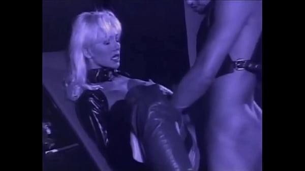 Very Beautiful Blonde Helen Duval in Leather Latex takes Deep Anal, Zenza Raggi