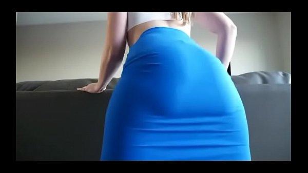 Wow big ass white girl twerking on cam  thumbnail