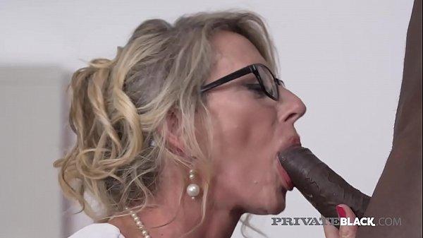 PrivateBlack - Man Milking Milf Marina Beaulieu...