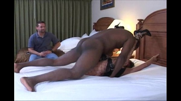 wife in slave lingerie gets rough missionary on...
