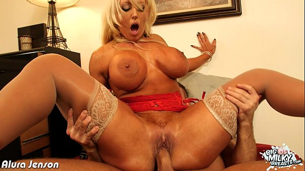 Busty Alura Jenson riding cock