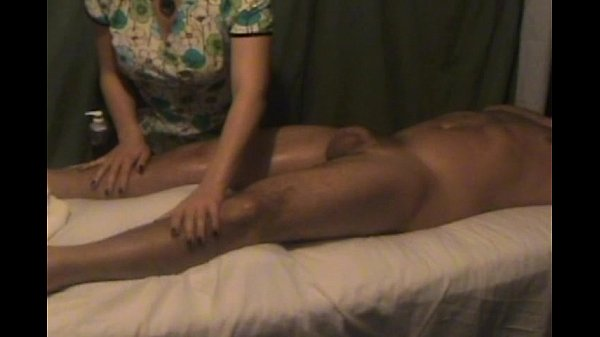 Homemade Massage Happy Ending