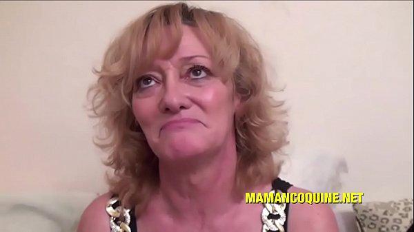 Ghislaine a mature woman who loves big cocks