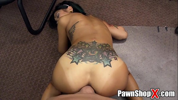 Asian Massage in Pawn Shop Ends With Hardcore Happy Ending xp14474