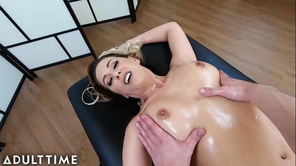 ADULT TIME - POV Giving Big Ass MILF Cherie DeVille A Massage Until You Fuck