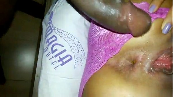 sexy whie girl gets her tight asshole fucked by a bbc