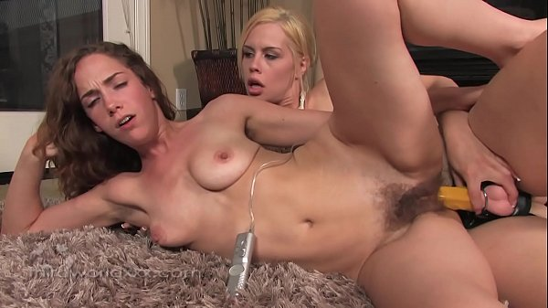 Hairy Babes Use A Strap On To Get Off Thumb