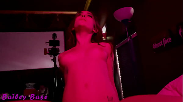 Girlfriend Fucking In The Neon Light VIP Room POV - Bailey Base