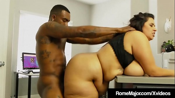Phat Ass BBW Sofia Rose Is Wrecked By Black Cock Rome Major! Thumb